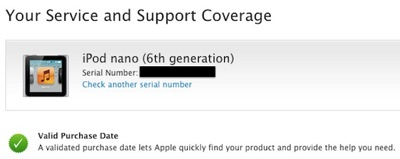 Ipod nano 6th gen replacement